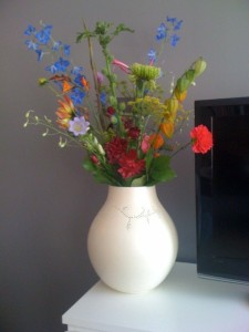 Multi coloured bouquet