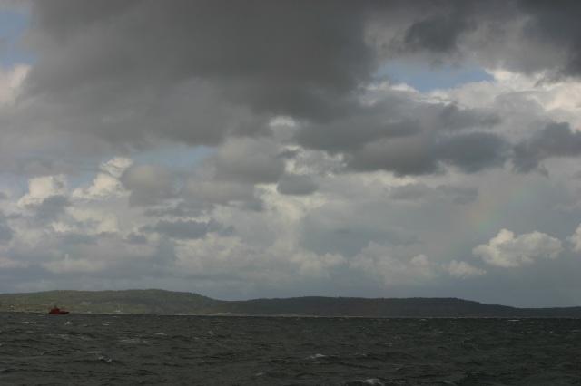 Rainbow at the East sea