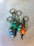 'Lucky' key rings