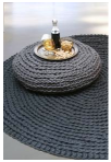 Carpet and side table