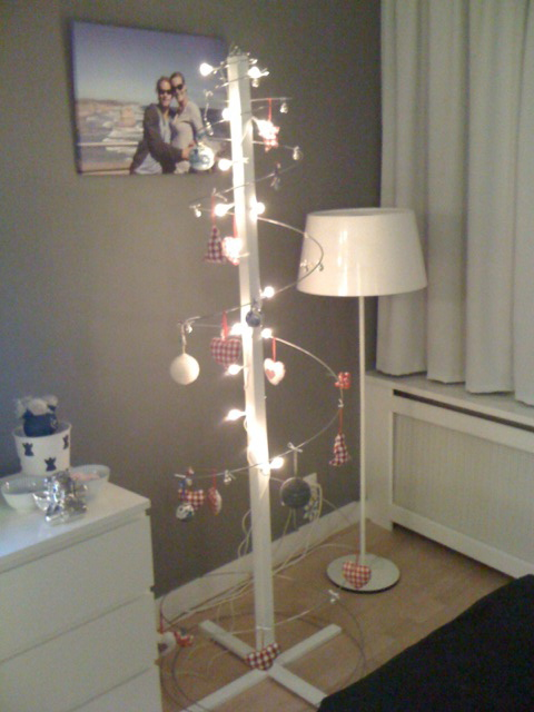 My modern eco friendly xmas tree