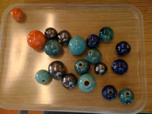 Last pic: all the beautiful beads!