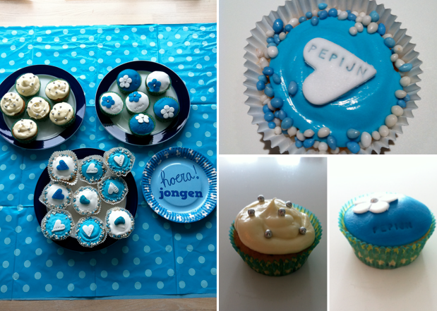 Cupcakes for baby event
