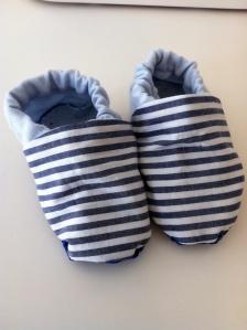 Sewn shoes