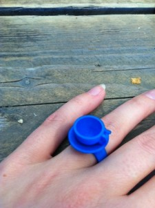 3D printed Cup-of-tea ring