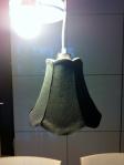 Felt lamp-shade