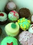 Sweet mini cupcakes