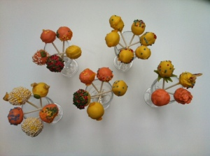 A whole bunch of cakepops