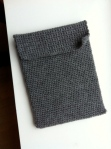 Grey IPad sleeve