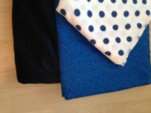 Beautiful Blue's (fabrics)