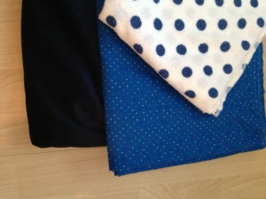 Beautiful Blue's (fabrics)