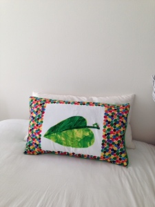 The Hungry Caterpillar pillow