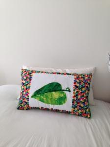 The Hungry Caterpillar pillow