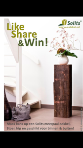 Win this Mooring Post Pedestal!